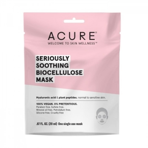 Seriously Soothing Biocellulose Mask by Acure