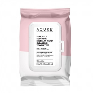Seriously Soothing Micellar Water Towelettes by Acure