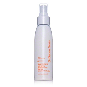 Sheer Mineral Sun Spray Broad-Spectrum SPF 50 Plus Protection by Dr. Dennis Gross Skincare