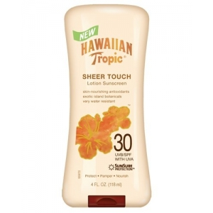Sheer Touch Lotion Sunscreen Broad Spectrum SPF 30 by Hawaiian Tropic