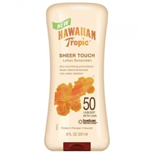 Sheer Touch Lotion Sunscreen Broad Spectrum SPF 50 by Hawaiian Tropic