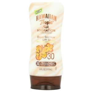 Silk Hydration Lotion Sunscreen Broad Spectrum SPF 30 by Hawaiian Tropic
