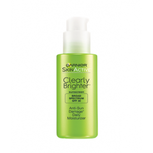 SkinActive Clearly Brighter Anti-Sun Damage Daily Moisturizer SPF 30 by Garnier