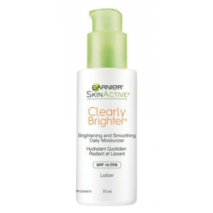 SkinActive Clearly Brighter Brightening & Smoothing Daily Moisturizer SPF 15 by Garnier