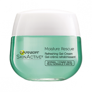 SkinActive Moisture Rescue Refreshing Gel-Cream for Normal/Combo Skin by Garnier