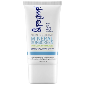 Skin Soothing Mineral Sunscreen Broad Spectrum SPF 40 by Supergoop!