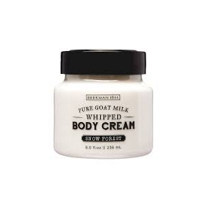 Snow Forest Whipped Goat Milk Body Cream by Beekman 1802