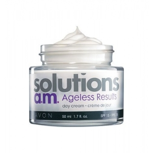 Solutions a.m. Ageless Results Day Cream SPF 15 by Avon