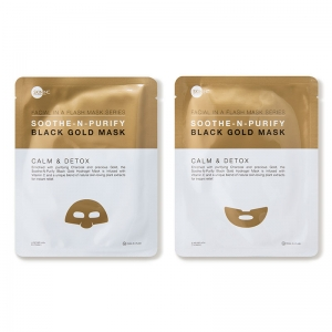 Soothe-n-Purify Black Gold Mask by Skin Inc.
