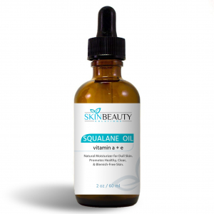 Squalane Oil with Vitamin A&E by Skin Beauty Solutions