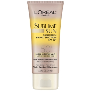 Sublime Sun Advanced Sunscreen, SPF 50 by L'Oreal Paris