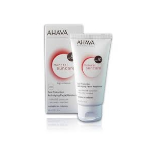 Sun Protection Anti-Aging Facial Moisturizer SPF 50 by Ahava