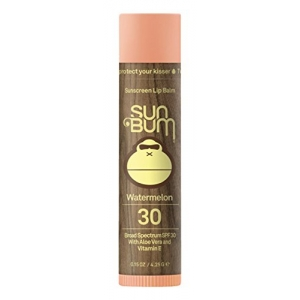 Sunscreen Lip Balm Broad Spectrum SPF 30 - Watermelon by Sun Bum