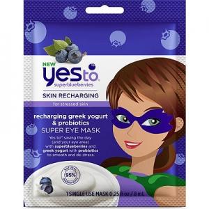 Superblueberries Skin Recharging Greek Yogurt & Probiotic Super Eye Mask by Yes To