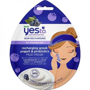 Superblueberries Skin Recharging Recharging Greek Yogurt & Probiotics Mud Mask by Yes To