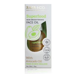 Superfood Skin Brightening Face Oil With Avocado Oil by Rata & Co.