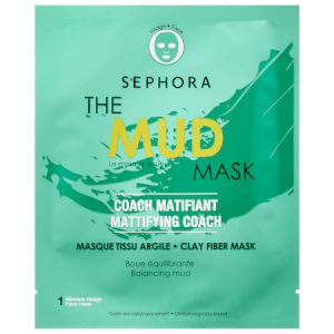 SuperMask - The Mud Mask - Mattifying Coach by Sephora Collection