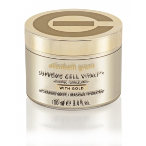 Supreme Cell Vitality With Gold Hydrating Mask by Elizabeth Grant