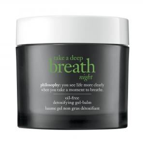 Take a Deep Breath Night Oil-Free Detoxifying Gel-Balm by philosophy