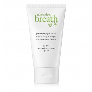 Take a Deep Breath Oil-Free Oxygenating Gel Cream SPF 30 by philosophy