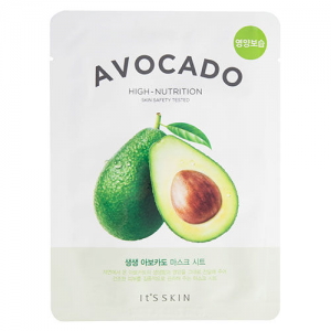 The Fresh Mask Avocado High-Nutrition Sheet Mask by It's Skin