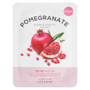 The Fresh Mask Pomegranate Clean & Vitality Mask Sheet by It's Skin