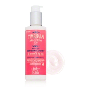 TimeBalm Skincare White Tea Rose Face Cleanser For Normal to Dry Skin by theBalm