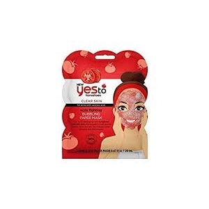 Tomatoes Acne Fighting Bubbling Paper Mask by Yes To