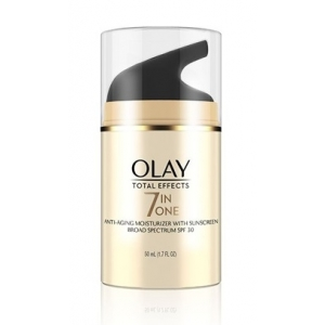 Total Effects 7-in-1 Anti-Aging Moisturizer with Sunscreen Broad Spectrum SPF 30 by Olay