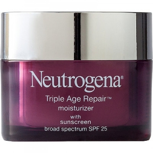 Triple Age Repair Moisturizer with Sunscreen Broad Spectrum SPF 25 by Neutrogena