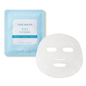 True Water Deep Cotton Mask by Thank You Farmer