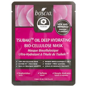 Tsubaki Oil Deep Hydrating Bio-Cellulose Mask by Boscia