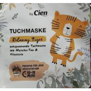Tuchmaske Relaxing Tiger Sheet Mask by Cien