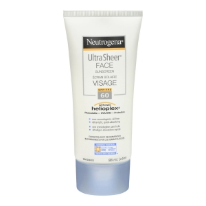 Ultra Sheer Face Sunscreen SPF 60 by Neutrogena Canada