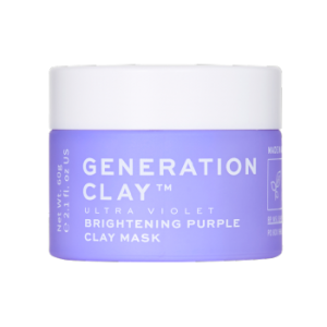 Ultra Violet Brightening Purple Clay Mask by Generation Clay
