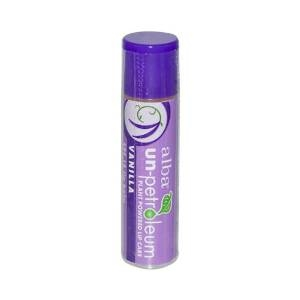 Un-petroleum Vanilla SPF 18 Lip Balm by Alba Botanica