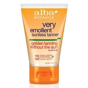 Very Emollient Sunless Golden Tanning Without The Sun by Alba Botanica