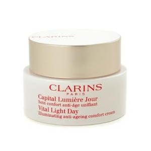Vital Light Day Illuminating Anti-Ageing Comfort Cream by Clarins