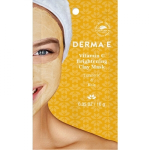 Vitamin C Brightening Clay Mask with Turmeric & Kale by Derma E
