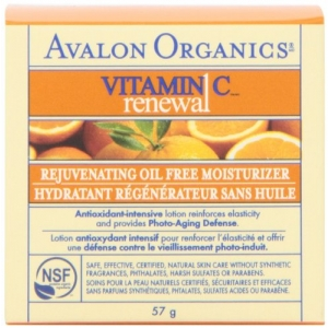 Vitamin C Renewal Rejuvenating Oil-Free Moisturizer by Avalon Organics