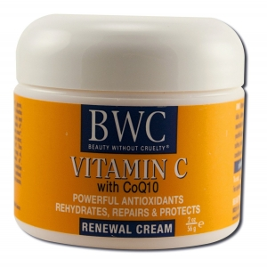 Vitamin C with CoQ10 Renewal Cream by Beauty Without Cruelty