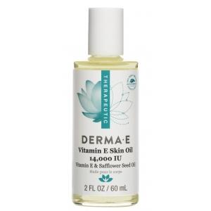 Vitamin E Skin Oil 14,000 IU with Vitamin E & Safflower Seed Oil by Derma E