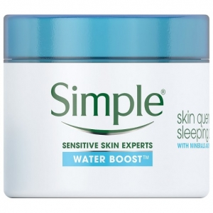 Water Boost Skin Quench Sleep Cream by Simple