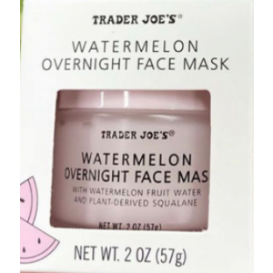Watermelon Overnight Face Mask by Trader Joe's
