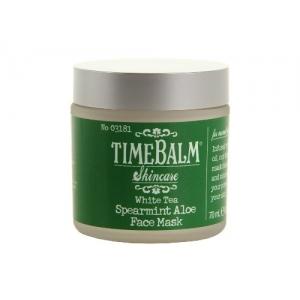 TimeBalm Skincare White Tea Spearmint Aloe Face Mask by theBalm