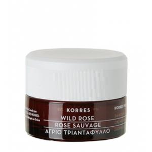 Wild Rose 24-Hour Moisturising & Brightening Cream, Normal to Dry Skin by Korres