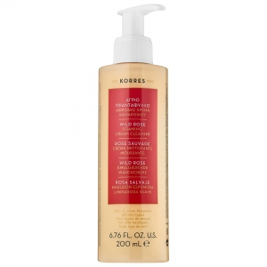 Wild Rose Foaming Cream Cleanser by Korres Natural