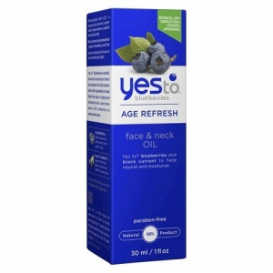 Blueberries Age Refresh Face & Neck Oil by Yes To