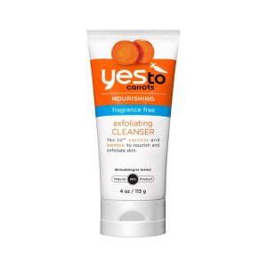Carrots Fragrance Free Exfoliating Cleanser by Yes To