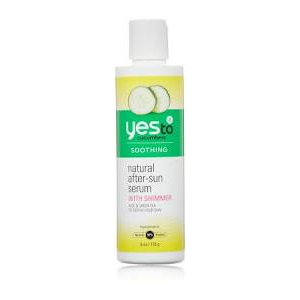Cucumbers After-Sun Serum (With Shimmer) by Yes To